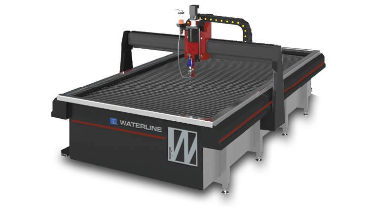 The range of waterjet cutting machines of Waterjet Corporation
