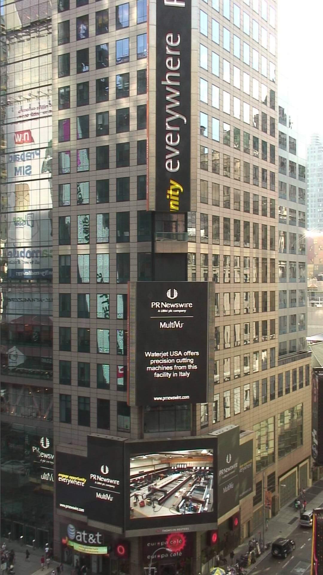 Waterjet USA a Broadway