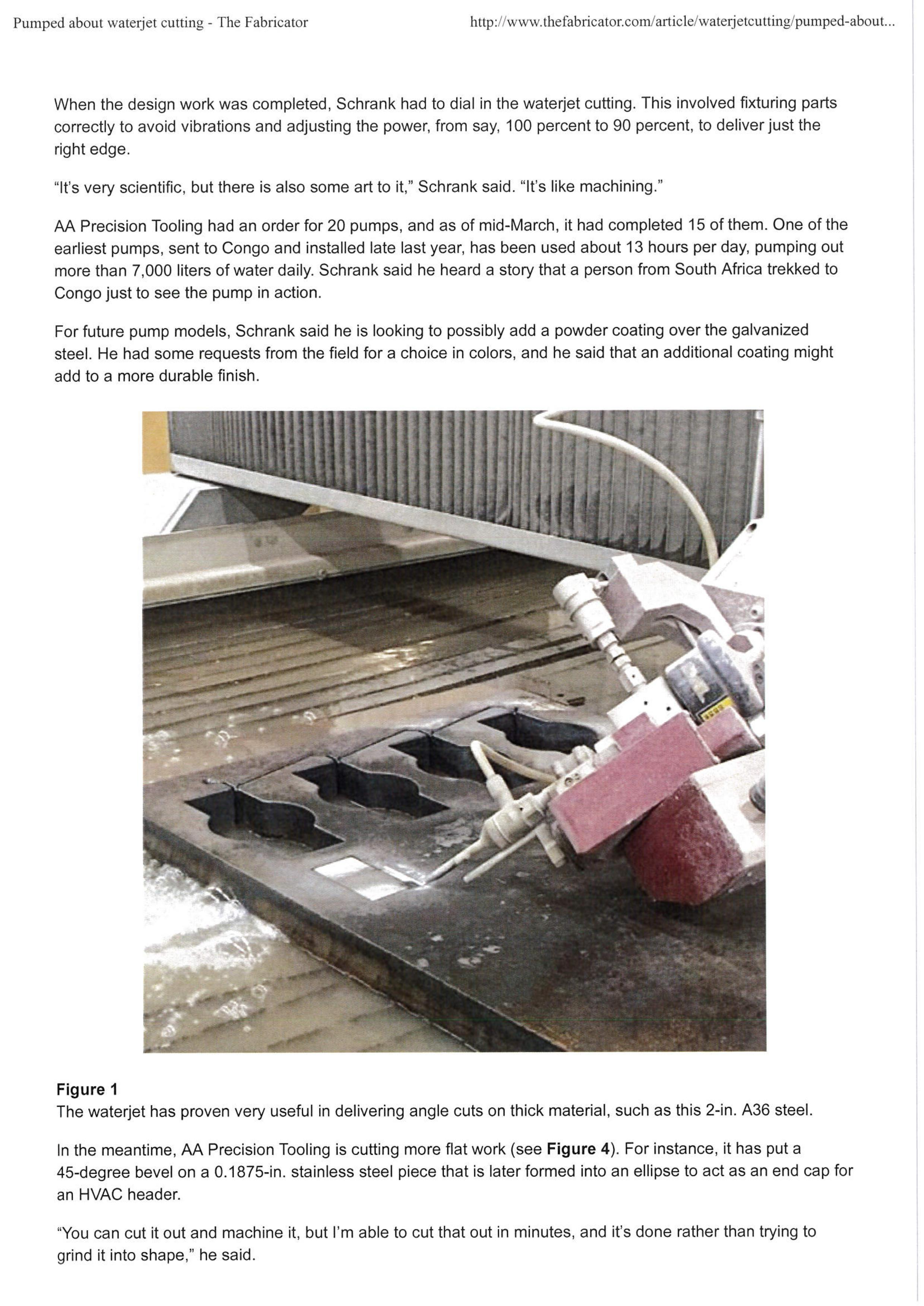 The Fabricator Magazine Waterjet USA 5