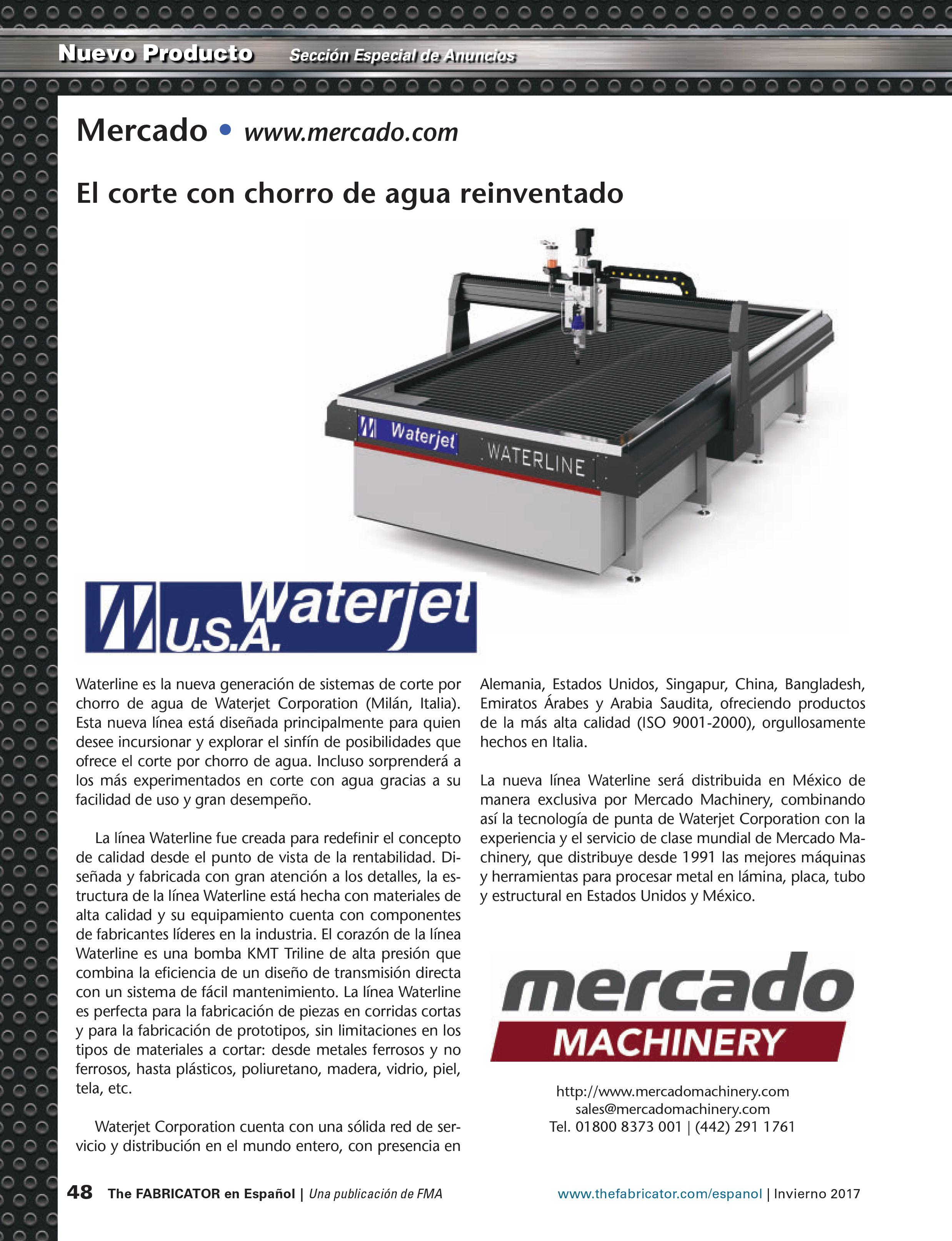 the Fabricator español winter 2017
